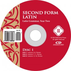 Second Form Latin Pronunciation CD