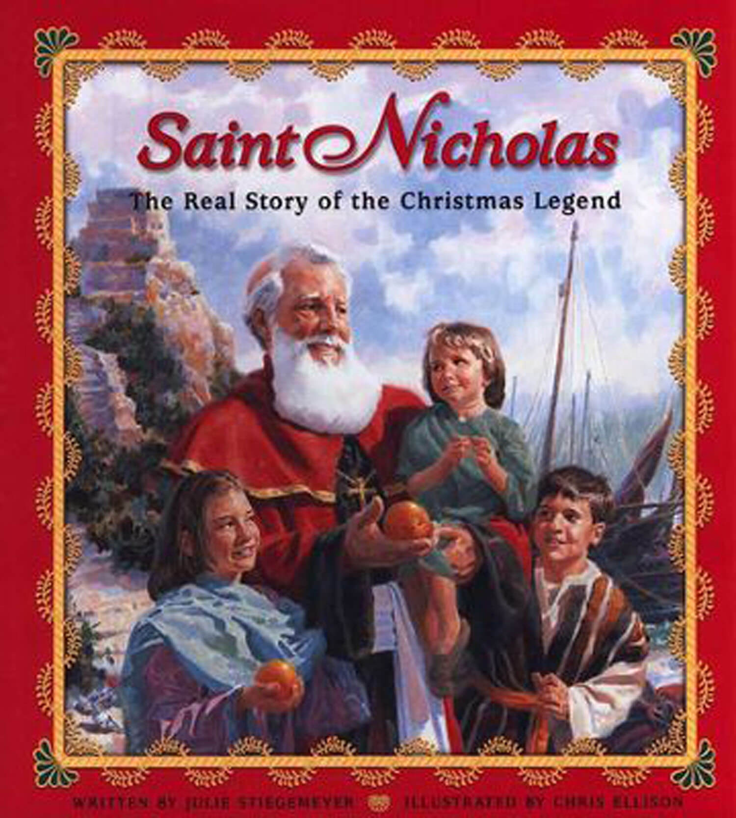 Real History Of Christmas.Saint Nicholas The Real Story Of The Christmas Legend