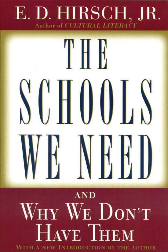 The Schools We Need