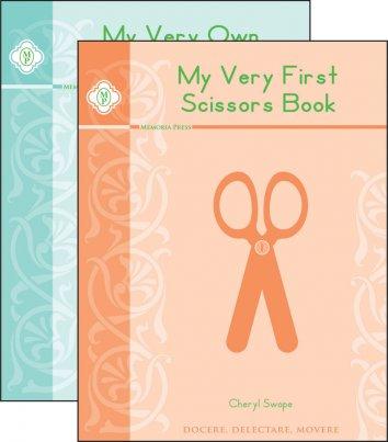 scissors books set