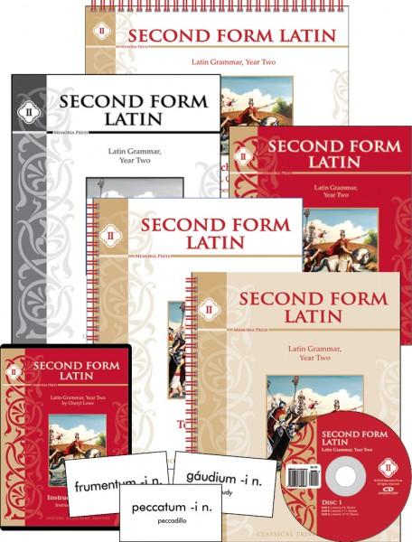 Second Form Latin Complete Set