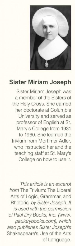 Sister-Miriam-Joseph-Bio
