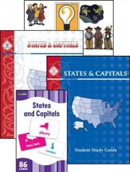 States & Capitals Set
