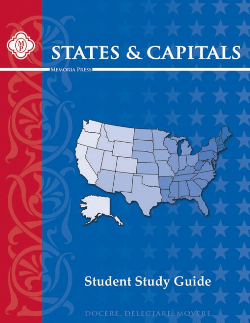 States and Capitals Student Guide