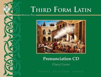 Third Form Latin Pronunciation CD