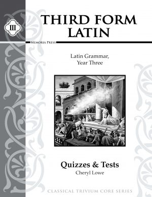 Third Form Latin Quizzes & Tests