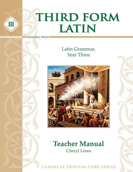 Third Form Latin Teacher Manual