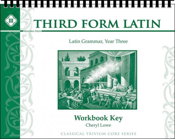 Third Form Latin Workbook Key