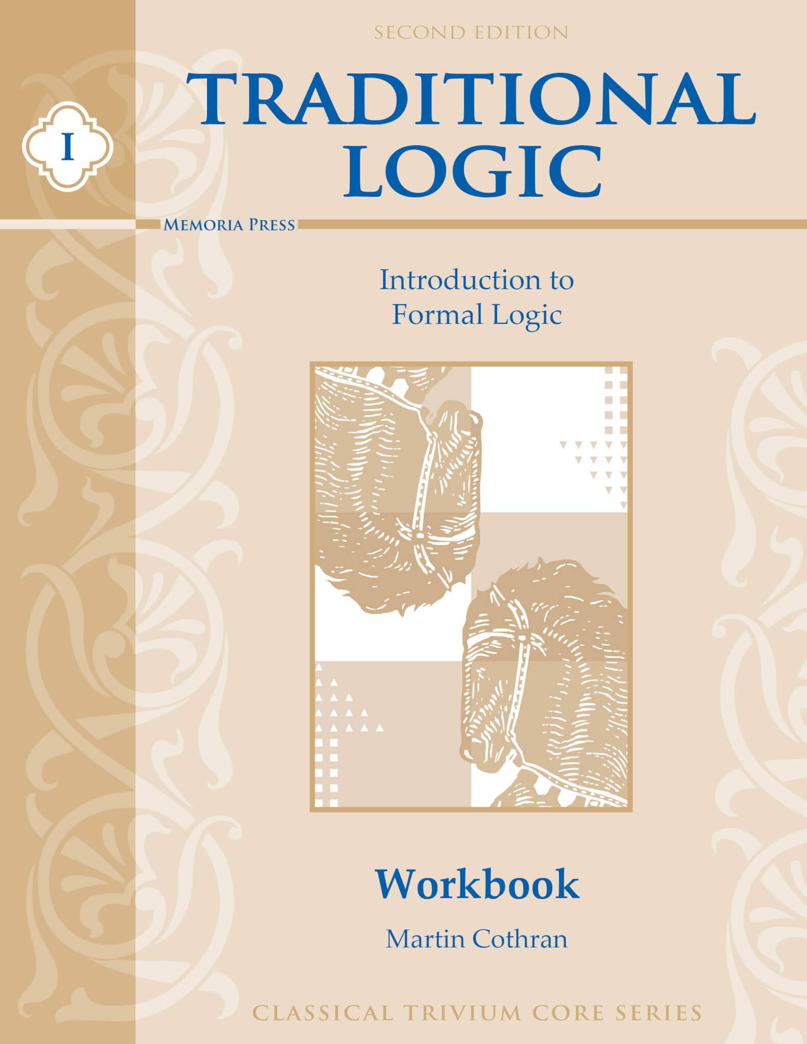 traditional logic i student workbook second edition memoria press