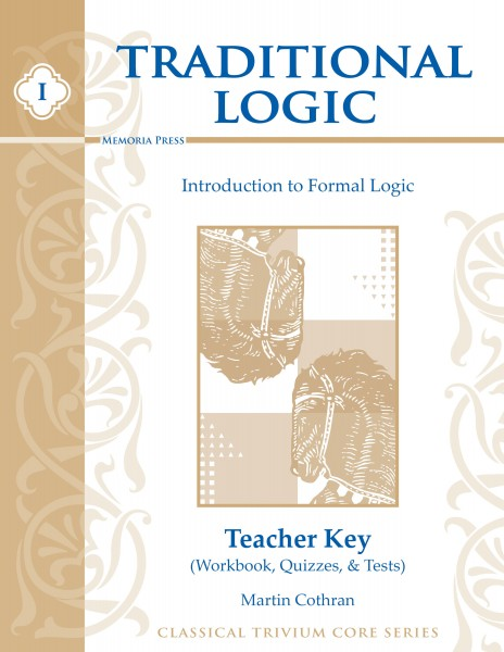 Traditional Logic Teacher Key