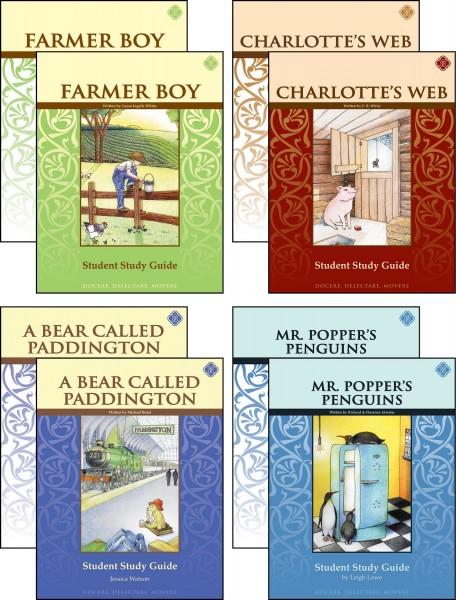 Third Grade Literature Guide Set