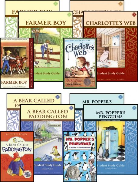 Third Grade Literature Guide Set (vertical)