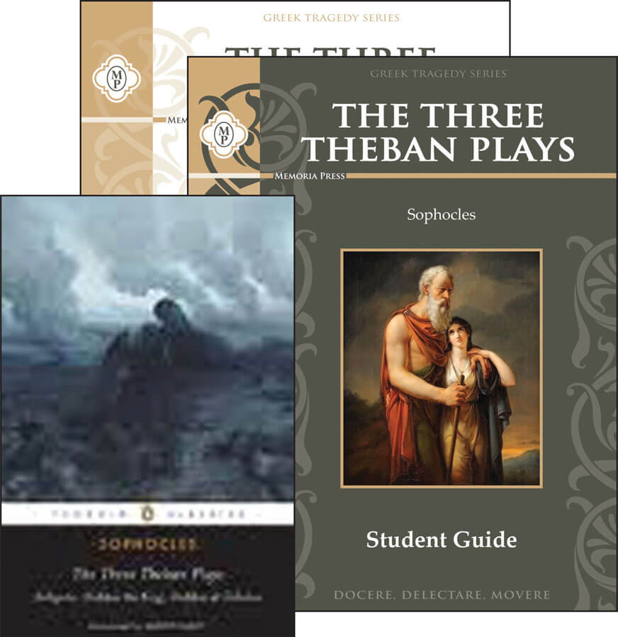 three theban plays The theban plays, cornell university press (sophocles) the timeless theban tragedies of sophocles—oedipus the tyrant, oedipus at colonus, and antigone—have fascinated and moved audiences and readers across the ages with their haunting plots and their unforgettable heroes and heroines.