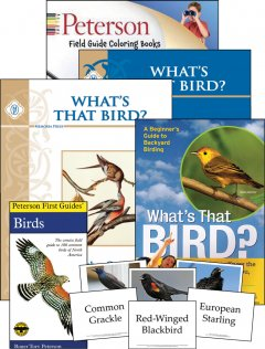 Peterson Field Guide Color In Book Birds