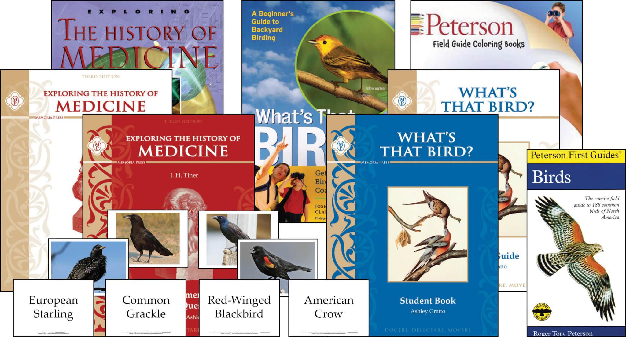 What's That Bird & History of Medicine Set