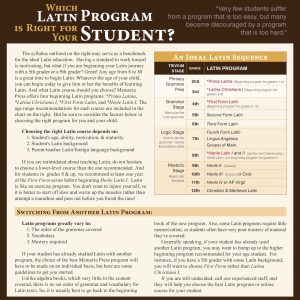 Which-Latin-Program