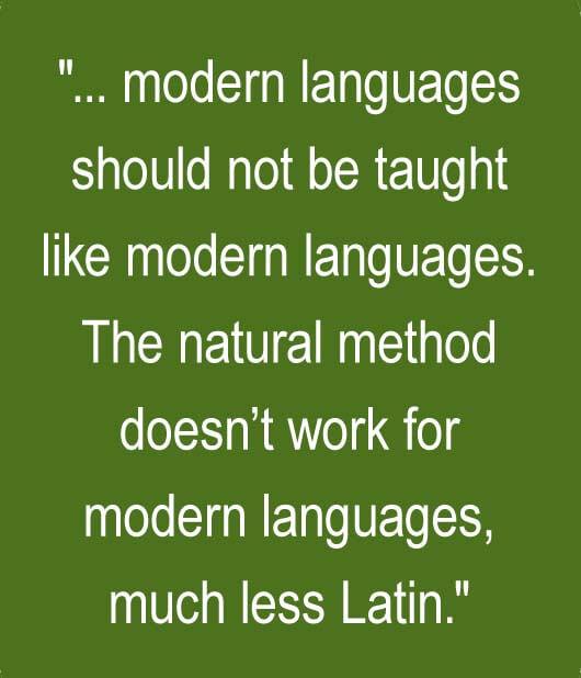 The Natural Method is Not Natural | Memoria Press